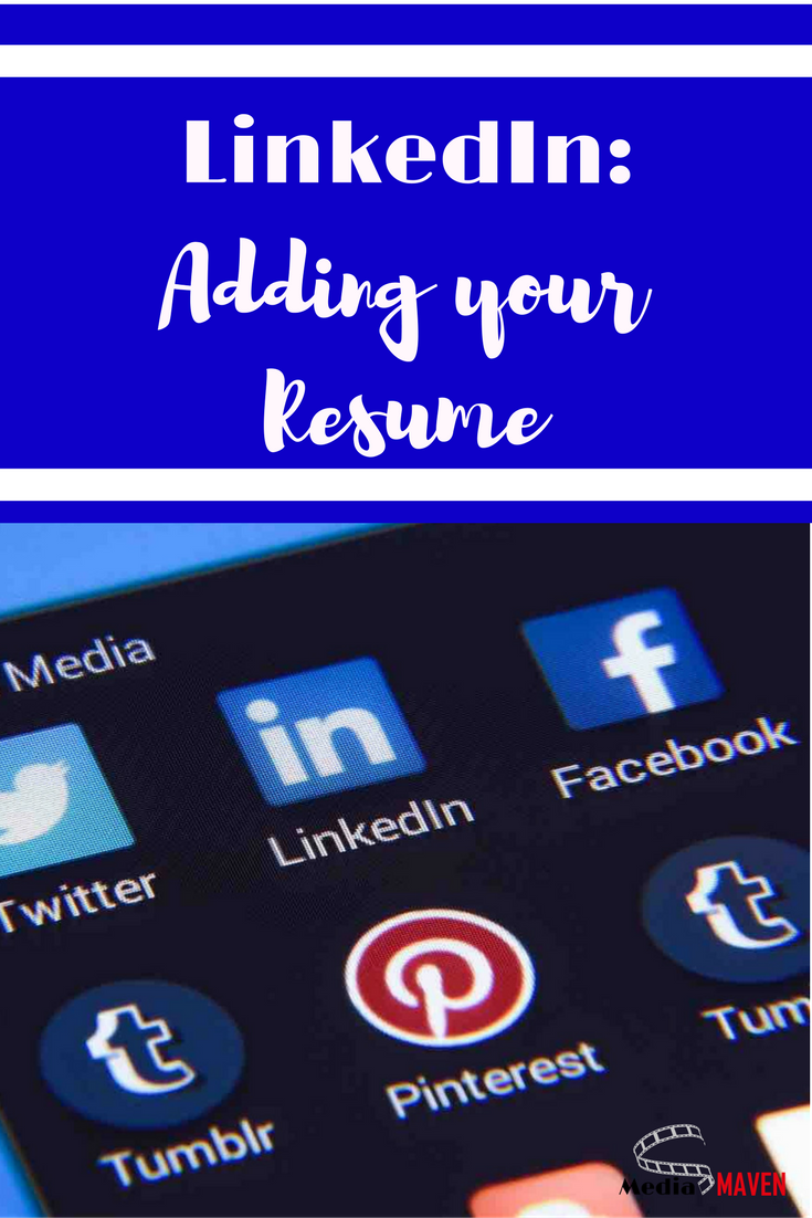 How To Add a Resume To Linkedin (With images) Using