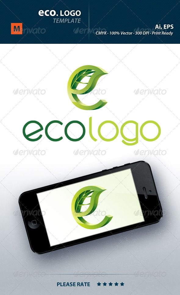 Eco Logo  Logos Nature Logos And Logo Templates