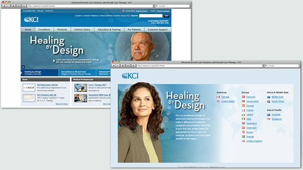 Kci Website Global Website This International Website Details The Multiple Features Of The V A C Therapy System Life Changes Medicine Website Details