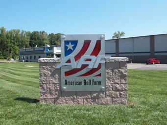 American Roll Form - industrial style dimensional monument sign ...
