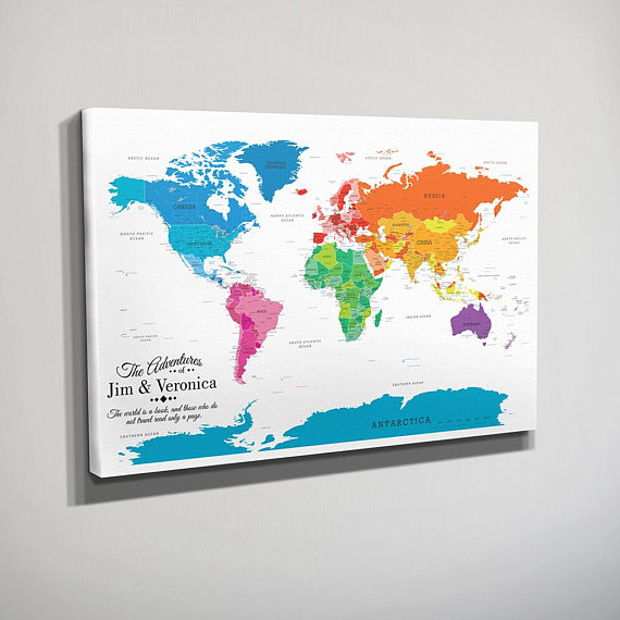 world map pins - Pinarkubkireklamowe