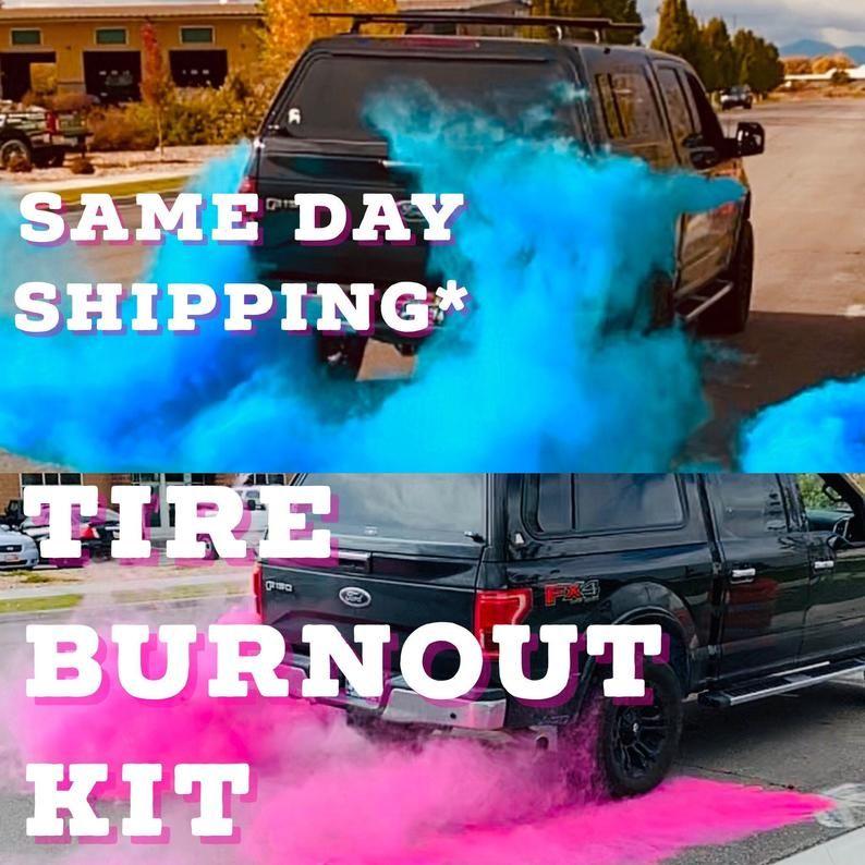 Premium Burnout Gender Reveal Simple Black Tire Pack In Pink Etsy In 2020 Gender Reveal Simple Gender Reveal Simple Black Bag