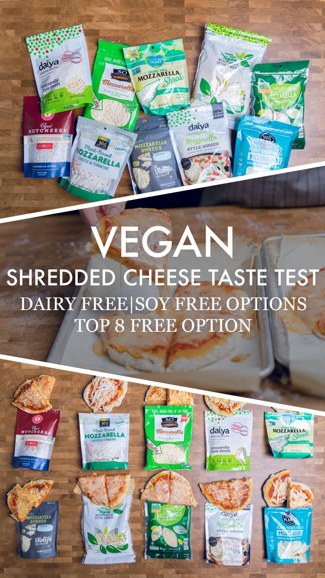 Vegan Shredded Cheese Taste Test - 10 Brands!
