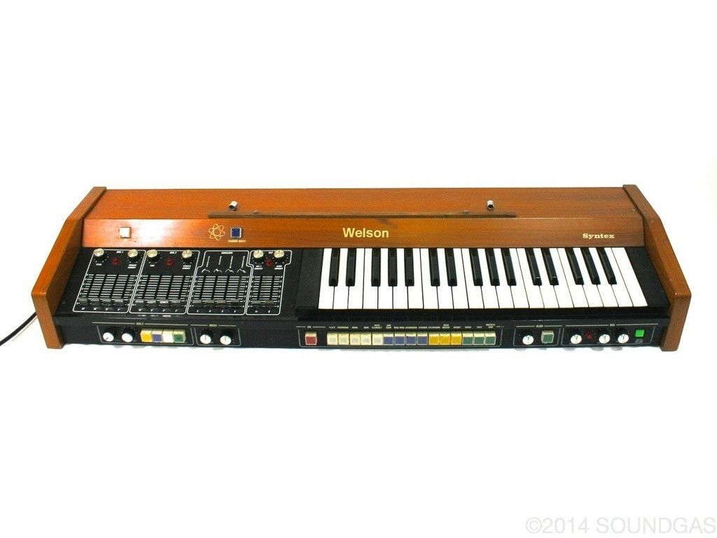 Welson Syntex In 2018 Vintage Gear Stuff Pinterest Gears Digital Sample And Hold Analogue Synthesiser Superb Discrete Filter Crazy Via The Random Music Button A Lovely Unusual 70s Synth