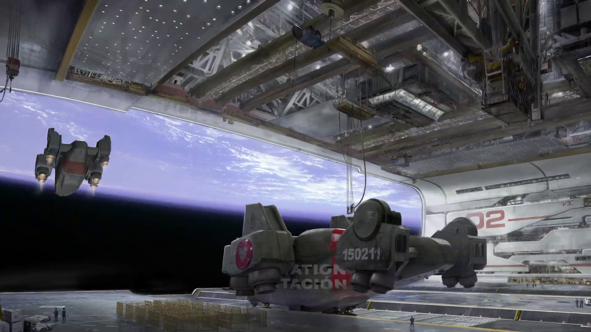 elysium space station concept art scifi pinterest