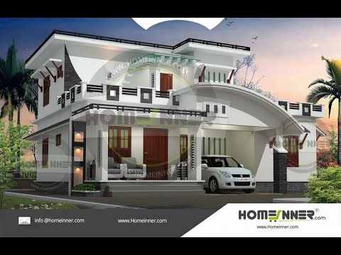 Hind 1048 Architectural House Plan Villa Floor Plan Package Youtube Architectural House Plans Kerala House Design Villa Design