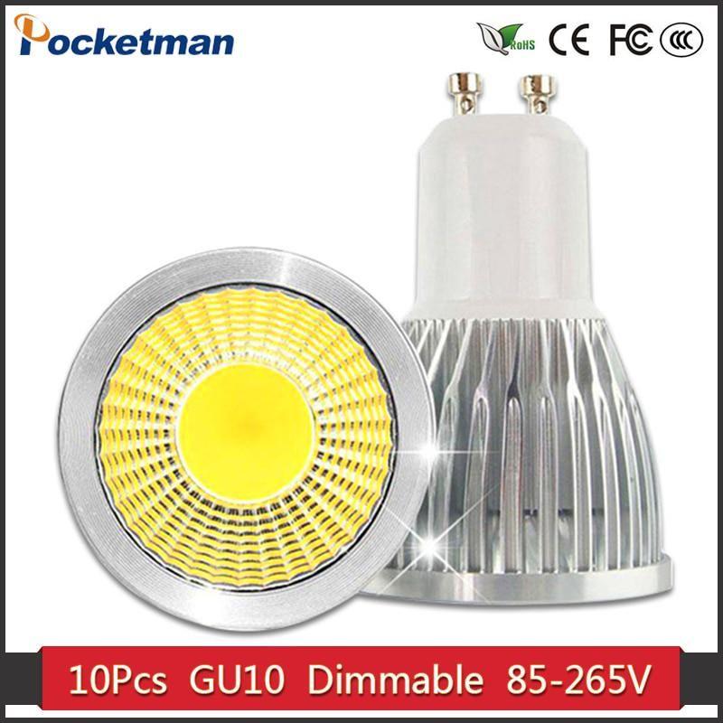 Gu10 Led Dimmable Led Spotlight Bulb Light 15W 10W 7W Gu10