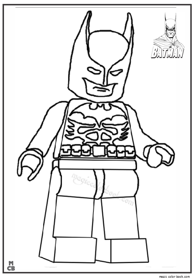 Pin By Magic Color Book On Batman Coloring Pages