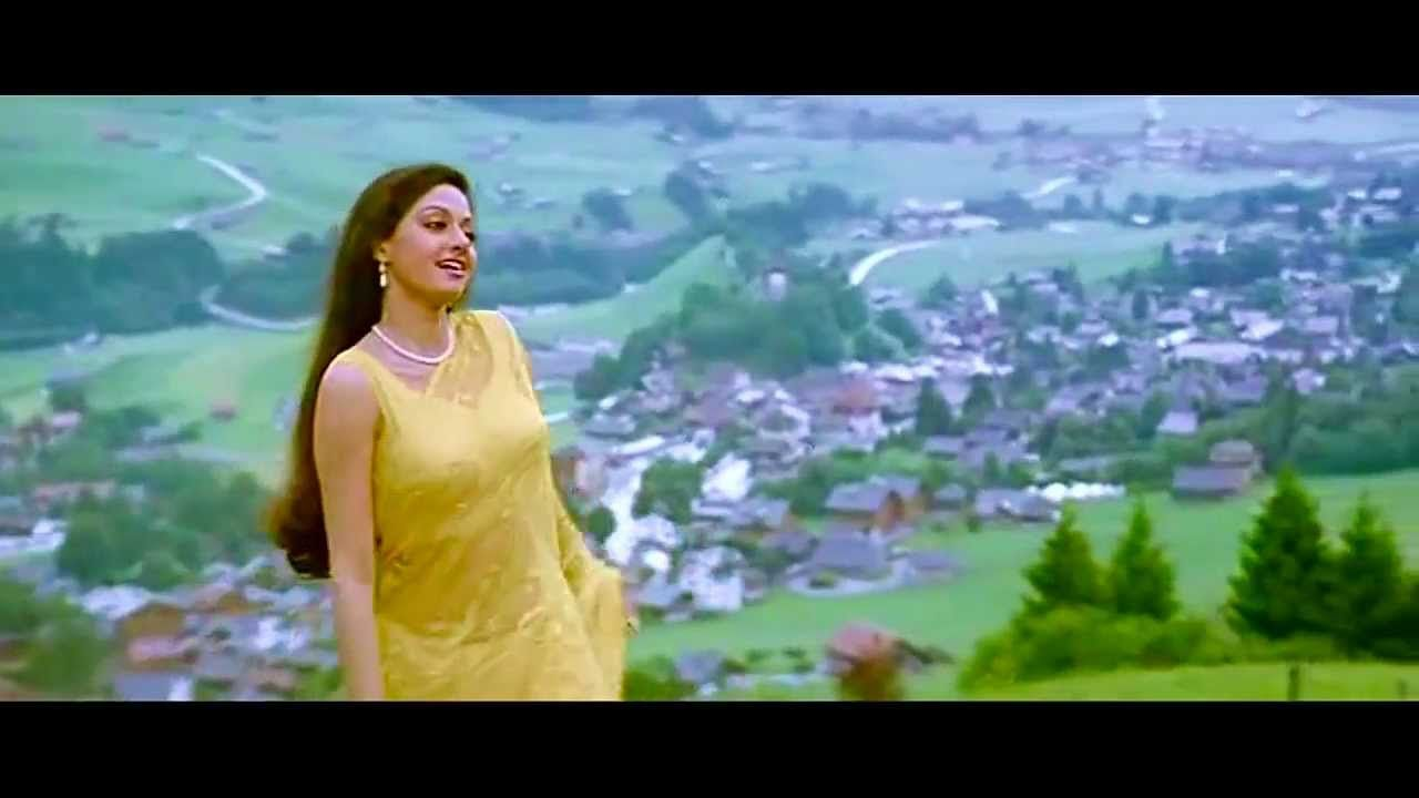 Tere Mere Hoton - Song -Chandni Hd 720P   Almas Manu In
