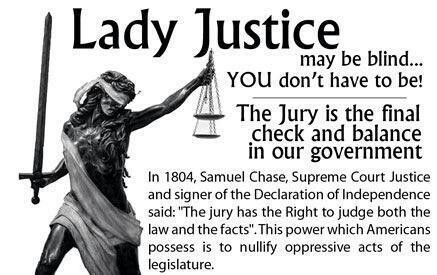 against jury nullification America's most aggressive defender of firearms ownership few people understand jury nullification, as it is not taught in school.