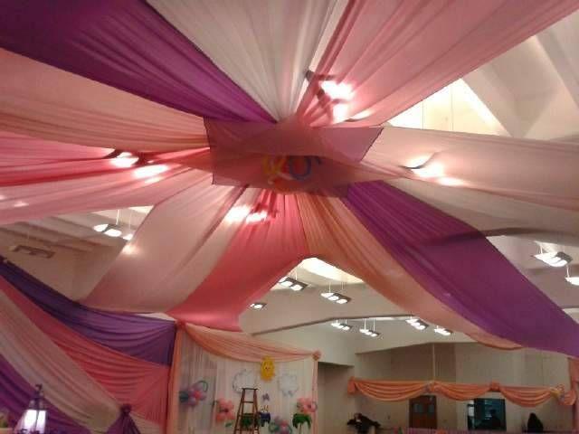 La decoraci n con telas es un tema muy bonito e - Decorar el techo ...
