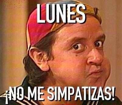 Lunes No Me Simpatizas Ansinaes Com Memes Black Power Funny Memes