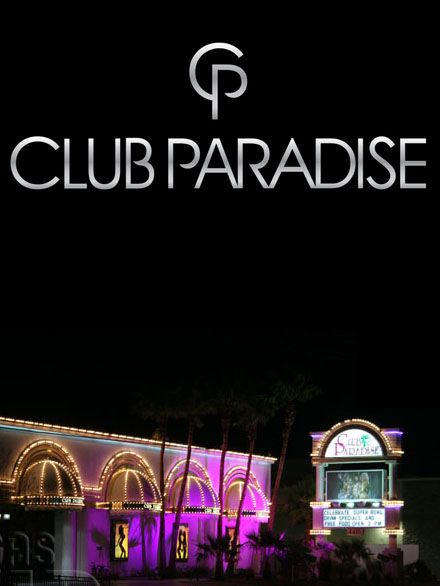 Club club paradise strip abstract thinking