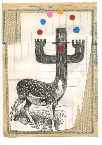 collages - julio antonio blasco, sr. lópez. Ilustración & diseño gráfico