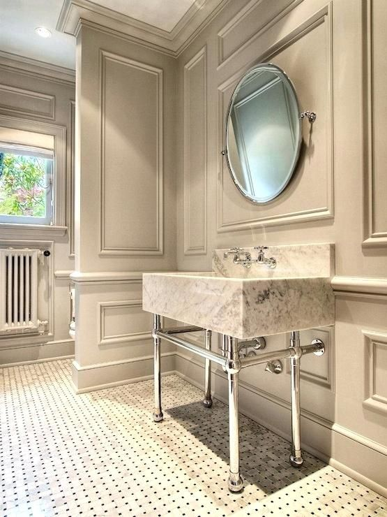 mirror frame molding bathroom mirror framed with crown ...