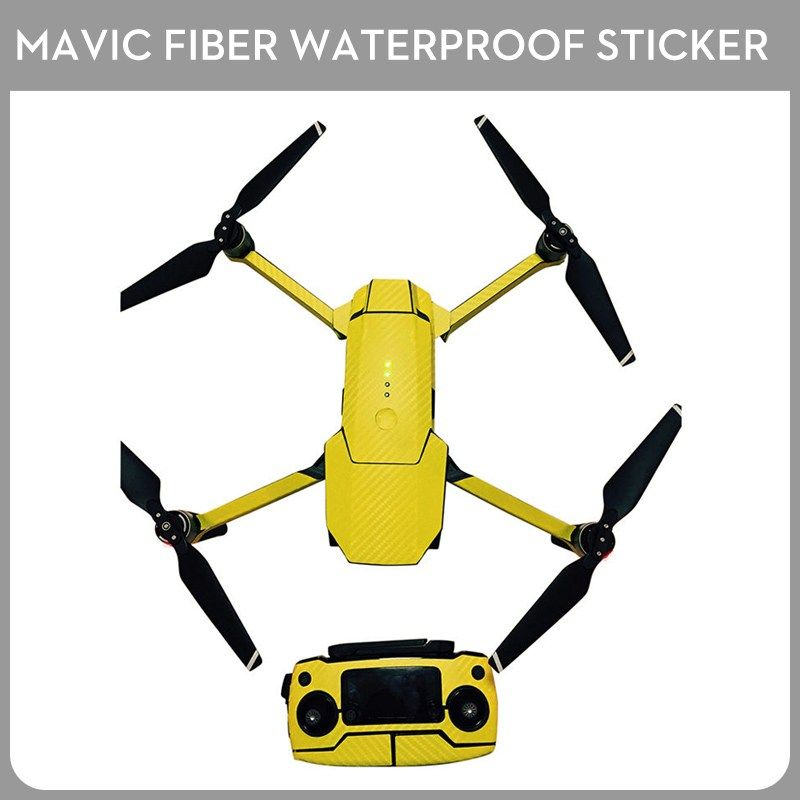 Buy Mavic Pro Carbon Fiber Body Skin Wrap Waterproof Fuselage Sticker With Controller Skin Sticker For Dji Mavic Pro Drone Dji Mavic Pro Carbon Fiber Mavic Pro