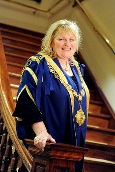 A picture of City of Greater Bendigo's Mayor for 2012-13 Cr Lisa Ruffell