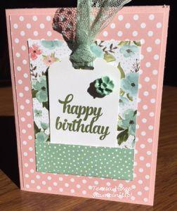 SU! Birthday Bouquet, One Sheet Wonder, Tin of Cards