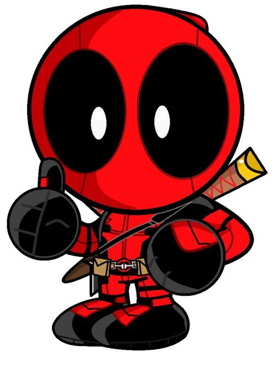 cbd7a9a2135  Little Deadpool  Fan  Art. (Deadpool) By  MOMOSred. ÅWESOMENESS!!!™ ÅÅÅ+