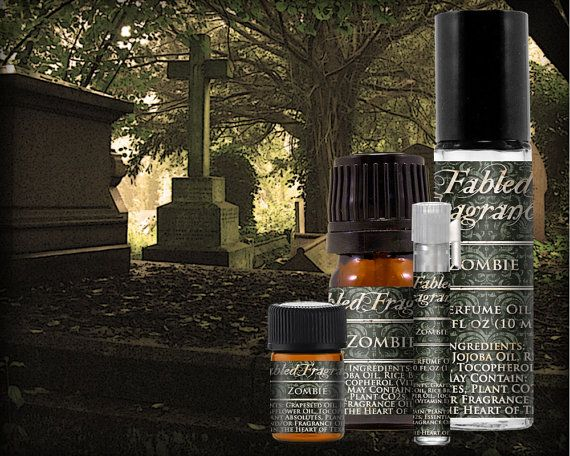 ZOMBIE Perfume Oil with Rain, Linen, Chypre, Black Musk