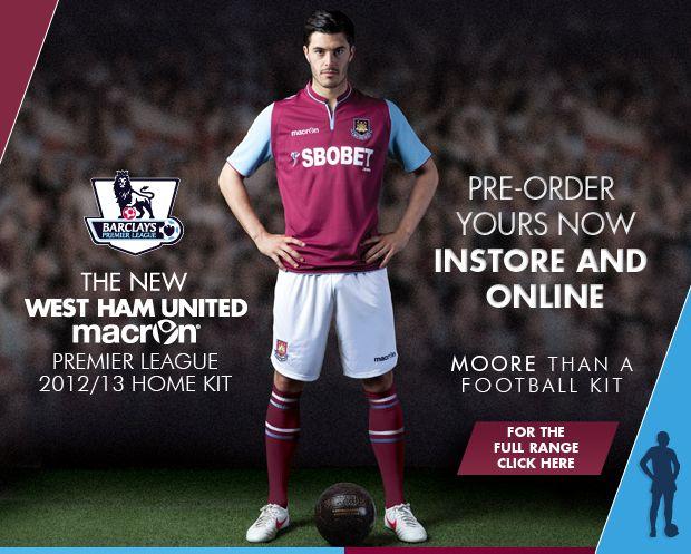 9c5cdd98 Official West Ham United Store - buy West Ham Kit Online | L.O.V.E. ...