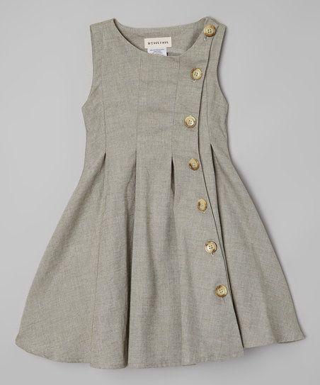 7eaeb212ba31 This dress  soft cotton blend features crisp