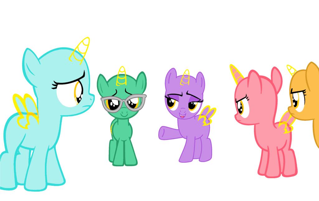 Filly Group Base 42 By Amelia Bases On Deviantart My Little Pony