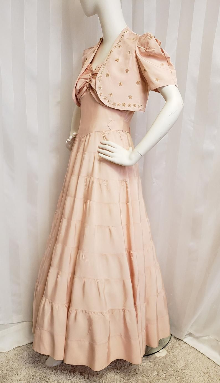 1930s Evening Dress Art Deco Gown Party Dress 1930s Dress Evening Dresses Evening Dresses [ 1382 x 794 Pixel ]
