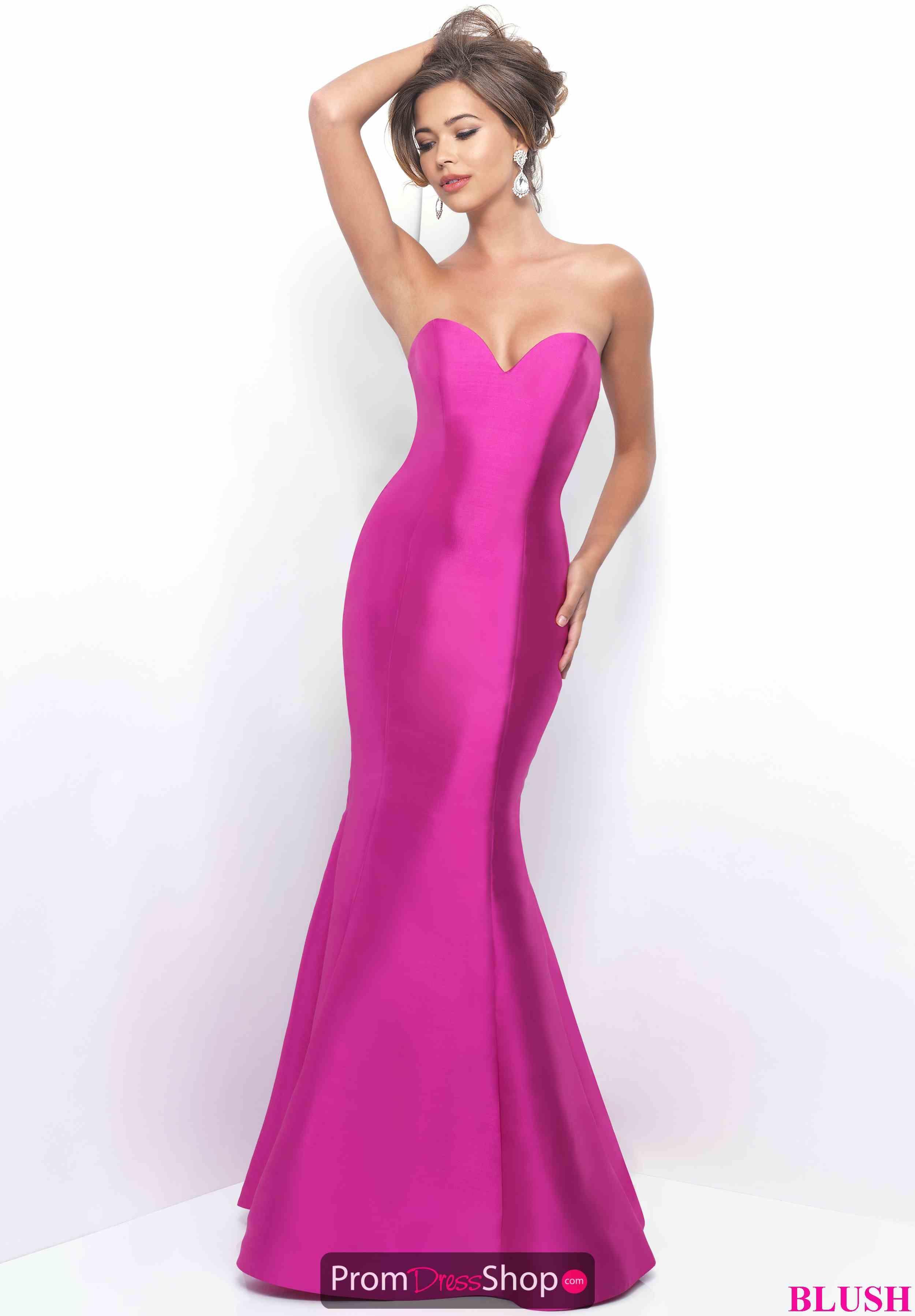 Sweetheart Neck Blush Mermaid Dress 11238 | Vestiditos