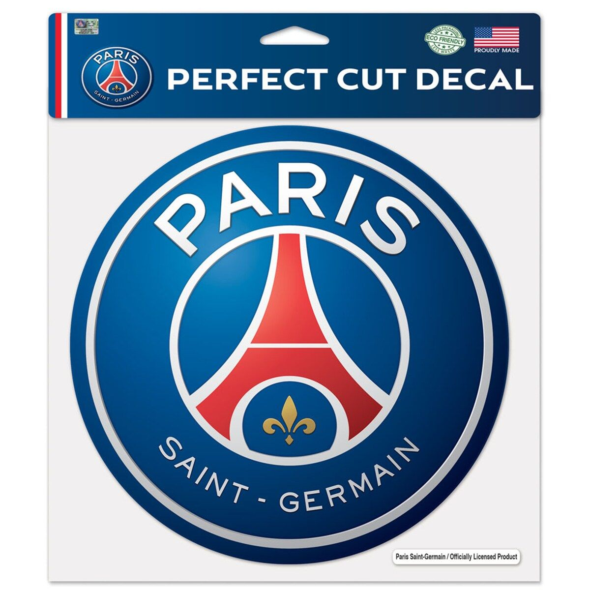 Paris Saint Germain 8x8 Decal Paris Saint Germain Paris Saint St Germain Paris
