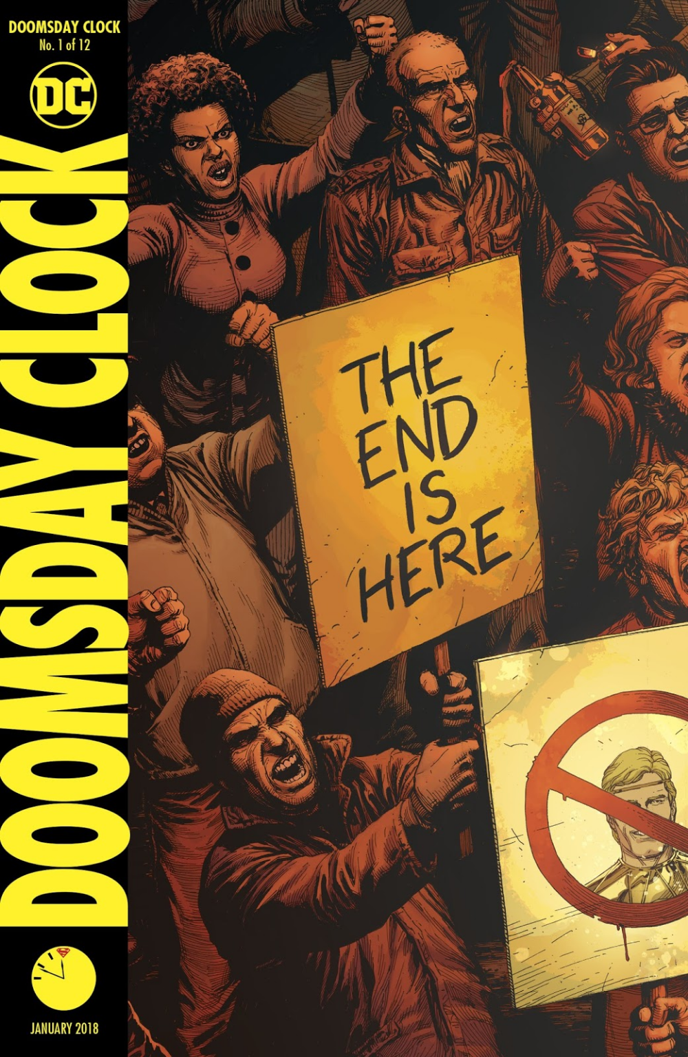Doomsday Clock Issue 1 Read Doomsday Clock Issue 1 Comic Online In High Quality Doomsday Clock Doomsday Comics