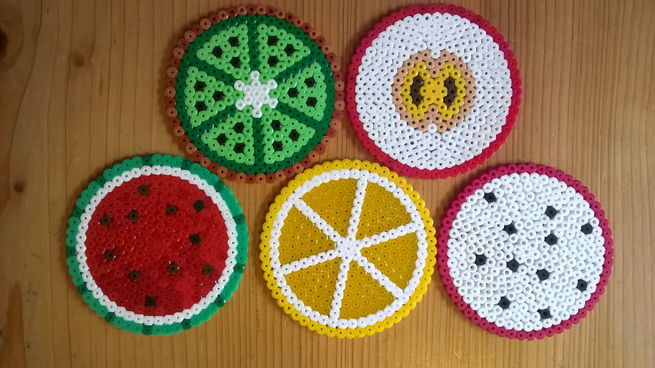 Diy Time Lapse 3d Perler Beads Apple Fruit Bugelperlen 3d