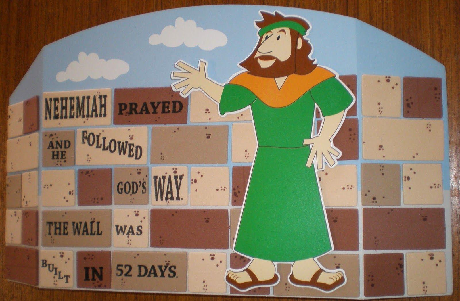 Petersham Bible Book & Tract Depot: Nehemiah Craft Kit | Sunday ...