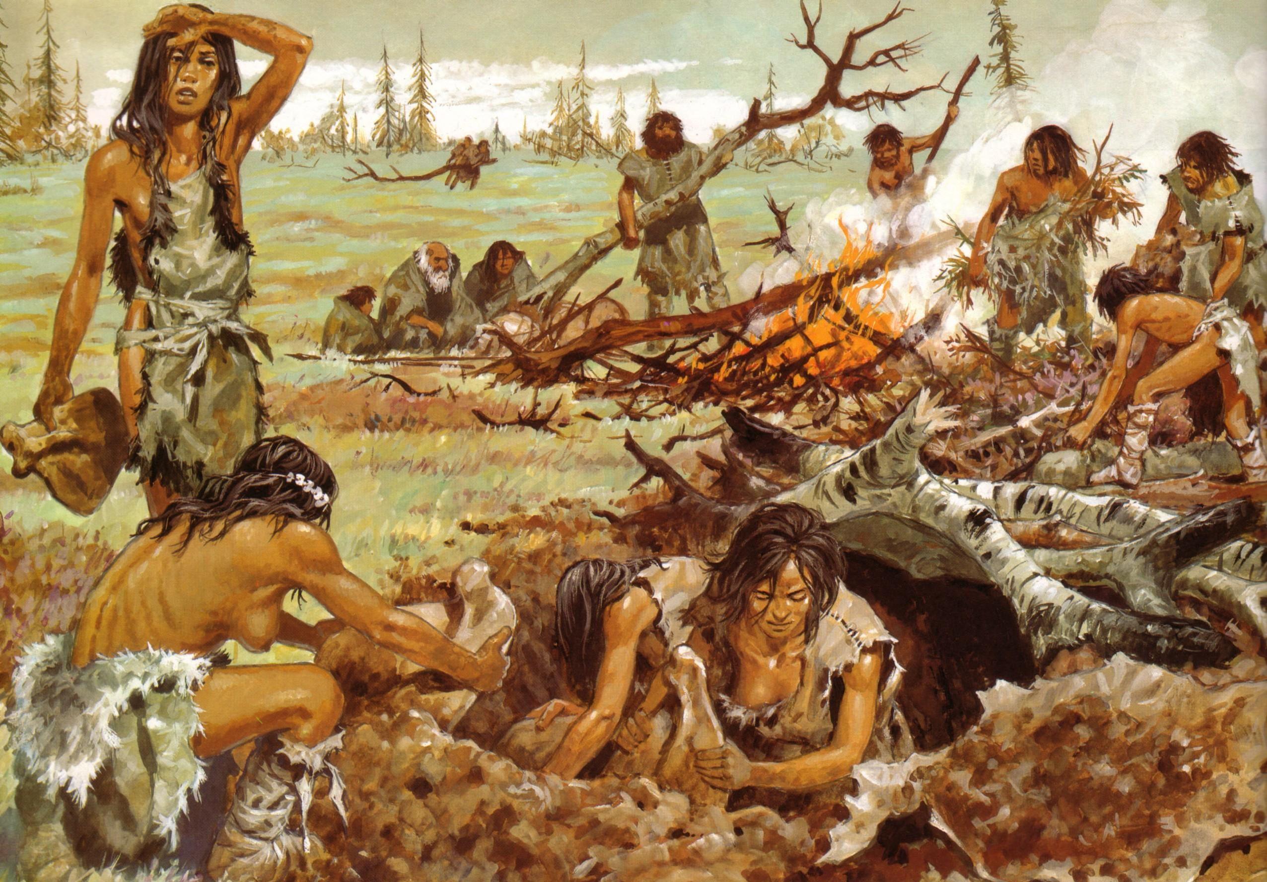 Les Temps Prehistoriques