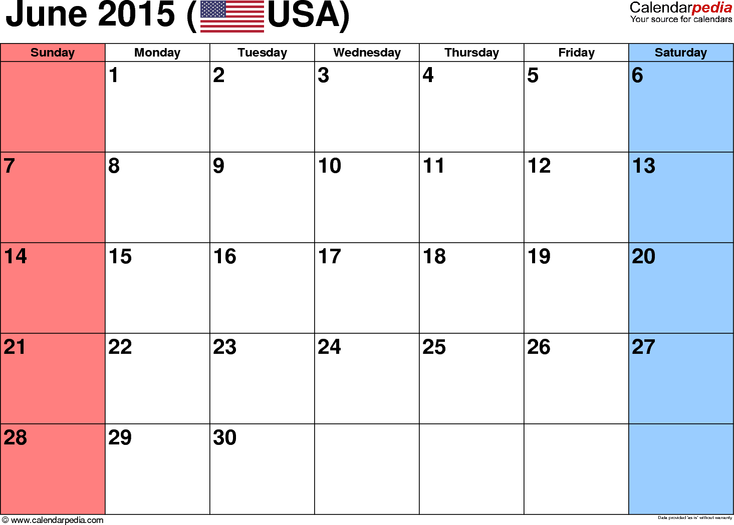 excel calendar 2015 with holidays