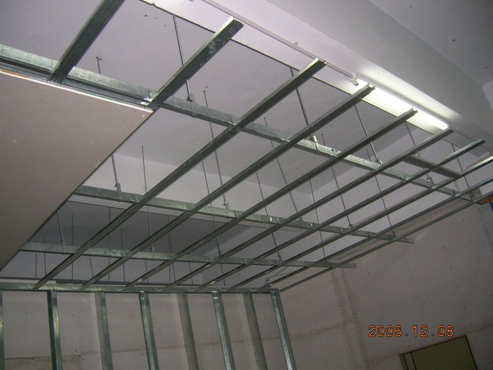 Ceiling Design Using Metal Furring Ceiling Design Install Drop Ceiling Steel Frame Construction
