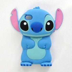 Lilo & Stitch Figurine 3D Etui Housse Coque Rigide pour iPhone 4 ...