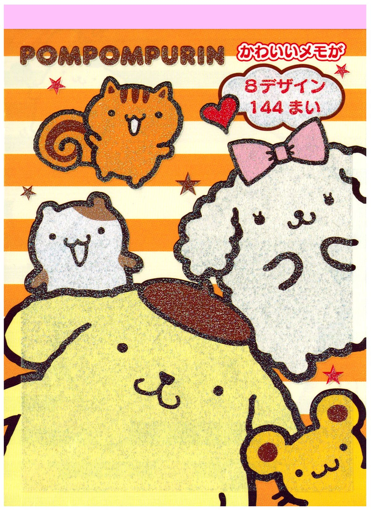 Hello Kitty Stickers Sticker Decals Sanrio Pom Purin & Friends