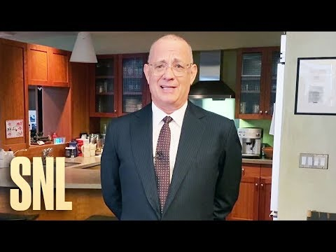 Tom Hanks At-Home Monologue - SNL