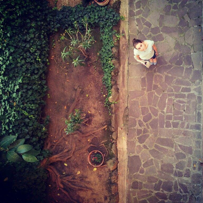 Marta in The garden