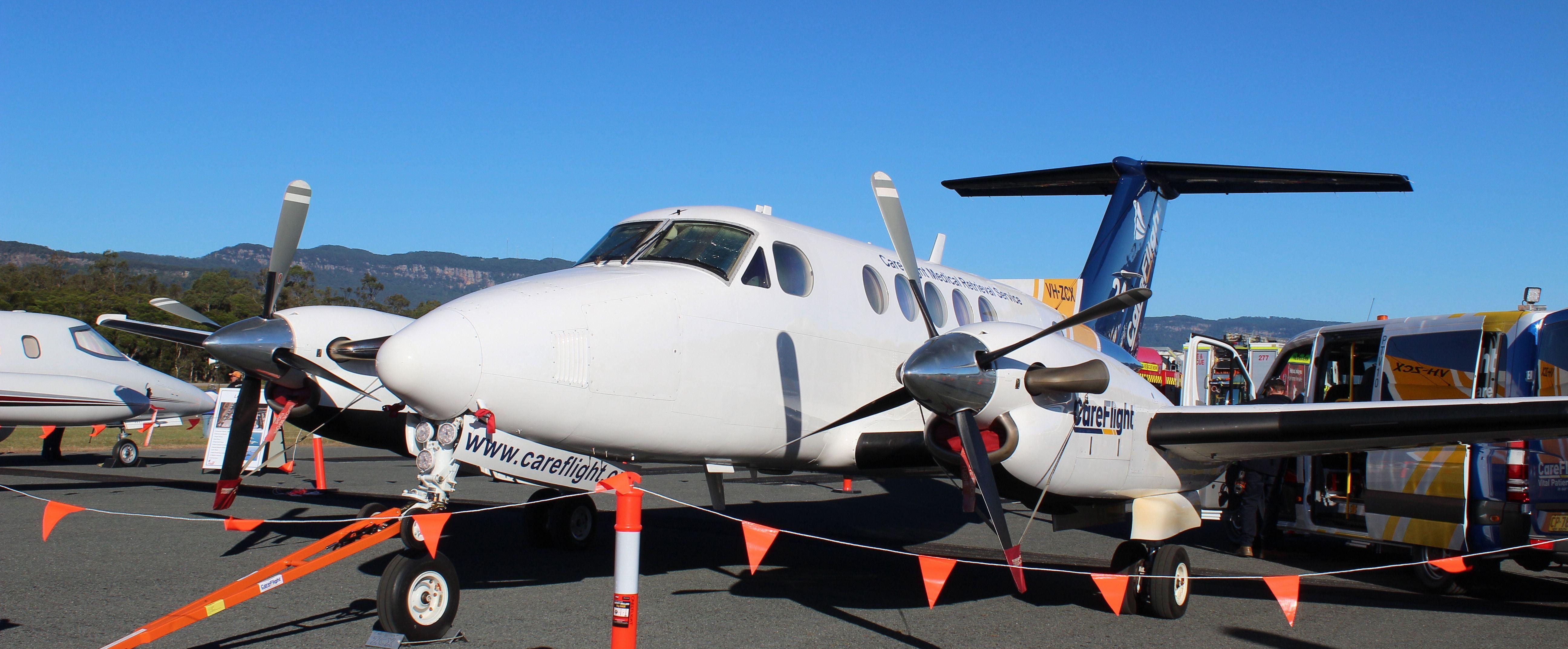 Hawker Beechcraft King Air B200 operated by CareFlight