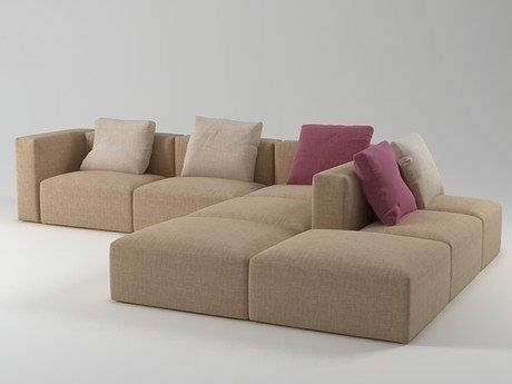Désirée Divani Blo sofa system 3d model N/A Sofa