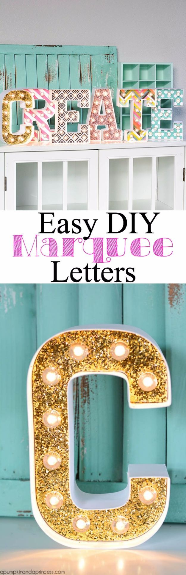 cool and crafty diy letter and word signs diy marquee letters