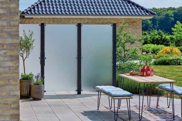 Sichtschutz für Balkon und Terrasse tuin Pinterest - auswahl materialien terrassenuberdachung