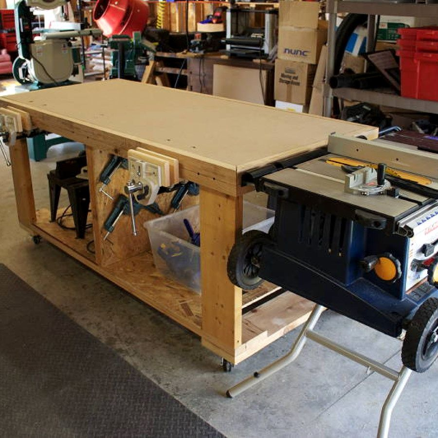 12 Woodworking Bench Plans Designs No 723 Small Woodworking Bench