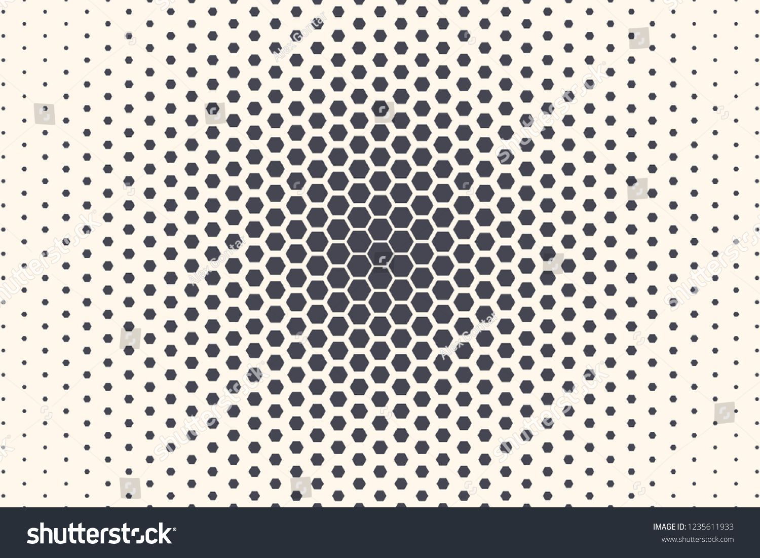 Hexagon Shapes Vector Abstract Geometric Technology Extreme
