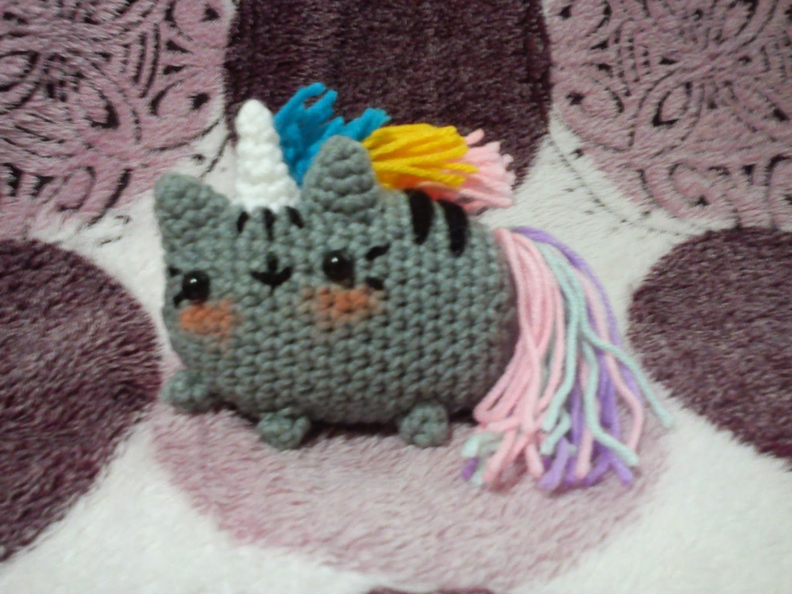 pusheenicorn - pusheen the cat as unicorn free pattern, 2nd page ...