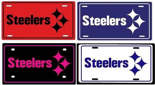 pittsburgh steelers license plate.jpeg (With images