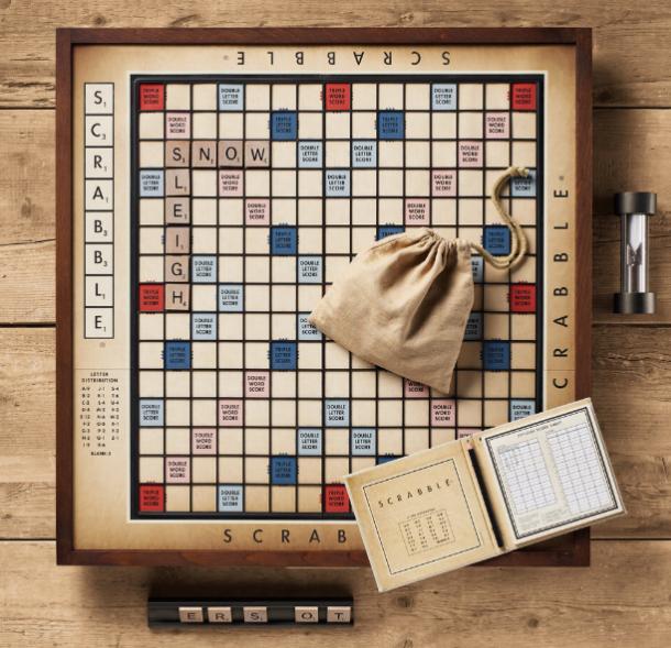 Ultimate Scrabble Board Scrabble Scrabble Board Vintage Games
