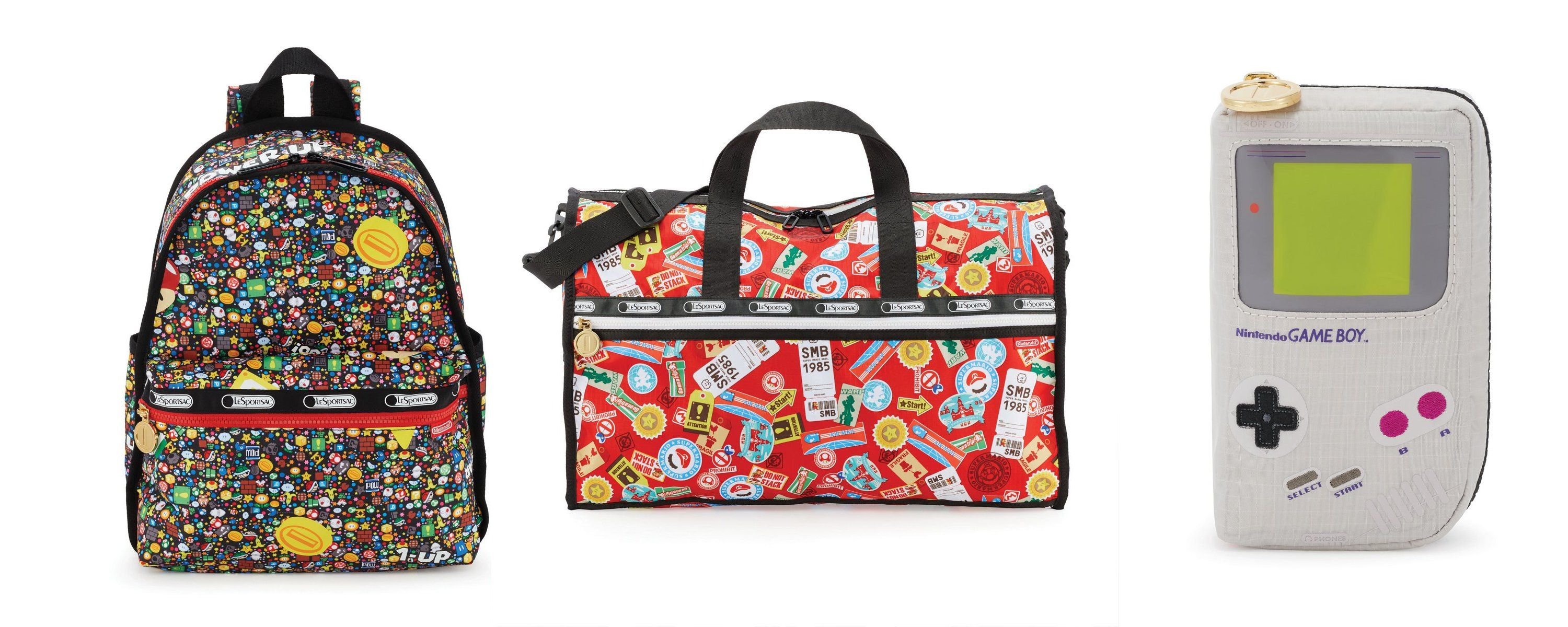 0a85a8b399 Here are some loud Nintendo bags from LeSportsac: Nintendo is doing a line  of GAMER BAGS with LeSportsac, which is actually an American…